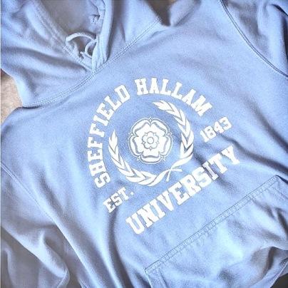 kamz online sheff hallam hoodie